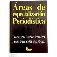 Areas de especializacin periodistica