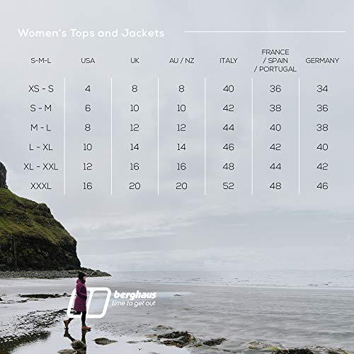 51REouuOWmL. SS500  - Berghaus Women's Fellmaster 3 in 1 Waterproof Shell Jacket