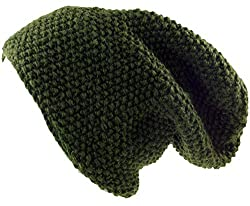 Guru-Shop Beanie Mütze, Herren/Damen, Olive, Wolle, Size:One Size, Mützen Alternative Bekleidung