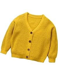 Abrigo de bebé Otoño invierno, Amlaiworld Bebé Niñas niños Suéter Jersey chaqueta abrigo Cardigan 12 Mes - 6 Años