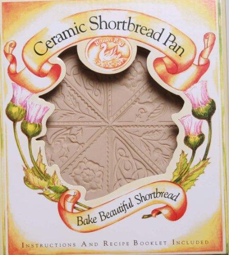 Brown Bag Design British Isle Shortbread Cookie Pan, 11-1/4-Inch by 9-1/4-Inch by Brown Bag Brown Bag Shortbread Pan