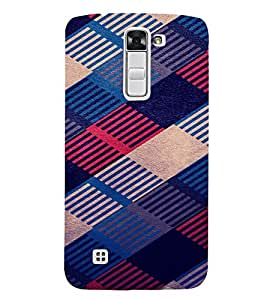 PRINTVISA Abstract Pattern Case Cover for LG K7