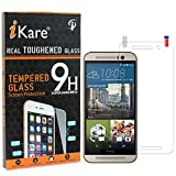 HTC One M9 Plus Tempered Glass, iKare 2.5D 9H Tempered Screen Protector for HTC One M9 Plus