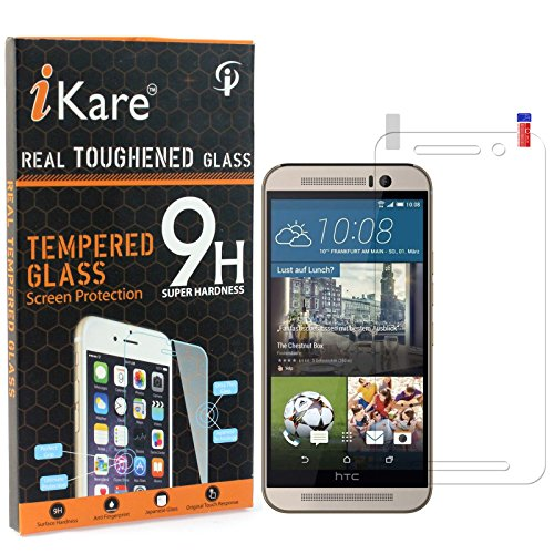 HTC One M9 Tempered Glass, iKare 2.5D 9H Tempered Screen...
