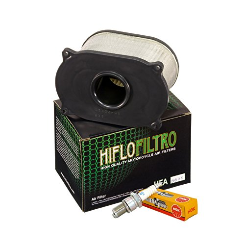 Filtro aria HifloFiltro HFA3609 candele NGK CR8E Raptor/SV 650