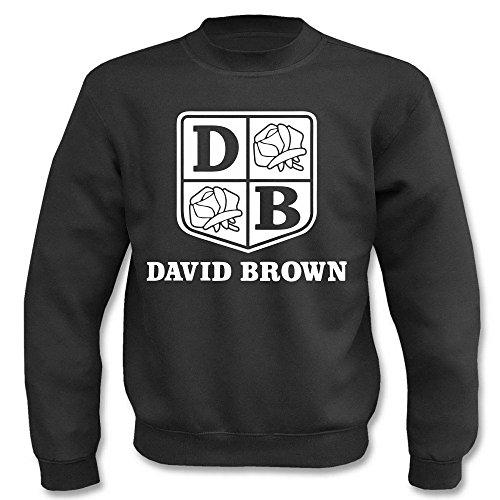 Pullover - David Brown Schwarz