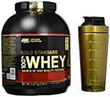 Optimum Nutrition Gold Standard 100% Whey y Gold Shaker...