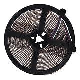 TOOGOO(R) RGB 5050 SMD 5M 300 LED RGB Lumiere de bande Impermeable 12V + 24 Touche...