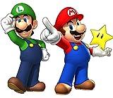 Aufkleber Mario und Luigi, Ref. 15032, 30 cm