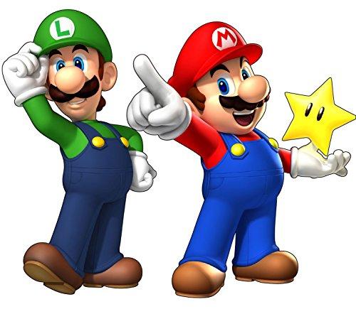 Aufkleber Mario und Luigi, Ref. 15032, 70 cm