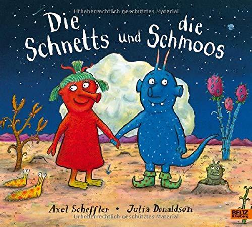 Die Schnetts und die Schmoos: Vierfarbiges Bilderbuch. Aus dem Englischen übertragen von Salah Naoura