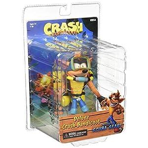 NECA Bandicoot Figur Scuba Crash, mehrfarbig (NECA41052)