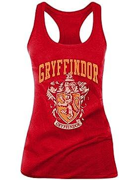 Camiseta de tirantes para mujer, diseño de Harry Potter Griffindor Old School