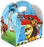 4 Geschenk-Boxen * PAW PATROL * für Kindergeburtstag und Mottoparty // Kinder Geburtstag Party Treat Boxes Süßigkeiten Partytüten Rettungshunde TV Nickelodeon