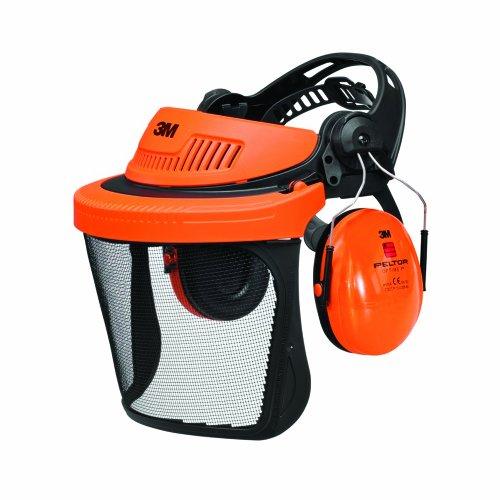 3M G5V5CH51 G500 Gesichtsschutz und Gehörschutzkombination, Orange