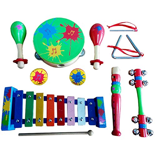 band-in-a-box-colourful-percussion-set-wooden-kids-childrens-toddlers-music-instruments-musical-toys