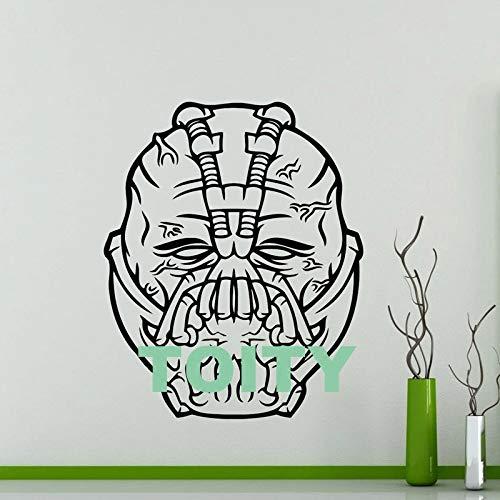 Adesivi Super Villain Bane Adesivi da parete DC Comics Destroyer Adesivi supereroi