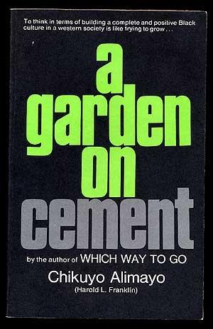 A garden on cement