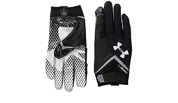 under armour nitro gloves. under armour men\u0027s ua nitro football gloves large black: amazon.co.uk: sports \u0026 outdoors