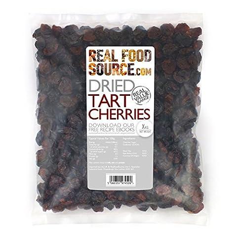 RealFoodSource Dried Tart Cherries (500g)