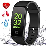 MSDJK Fitness Tracker, Orologio Fitness Activity Tracker Braccialetto Intelligente.IP 67 Smartwatch,...