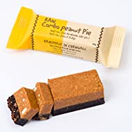Raw Chocolate & Peanut Butter Fudge Combo Pie
