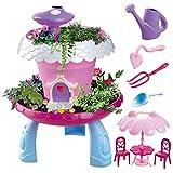 maxxrace Garten Spielzeug, Gartengeräte für Kinder ab 6, Kinder Lernen im Garten zu Pflanzen, Indoor und Outdoor Pflanzen Spielzeug,Mädchen und Junge Gartenspiele, Steam Spielzeug