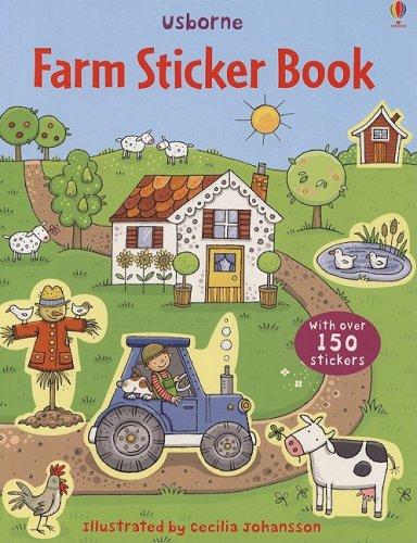 Farm Sticker Book [With Stickers] (Usborne Sticker Books)