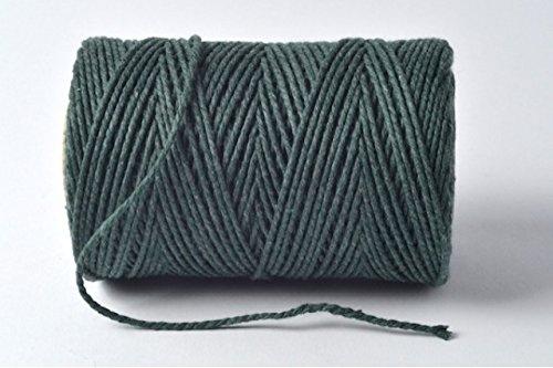 Vert mousse/Sage/olive 100% coton Ficelle – 10 metres Longueur de coupe par Cranberry Card Company