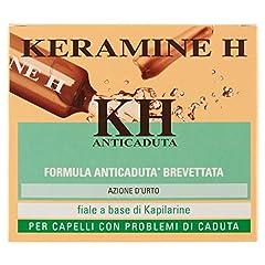 Idea Regalo - Keramine H ,KH Fiala Anticaduta per Capelli,12 Monodose
