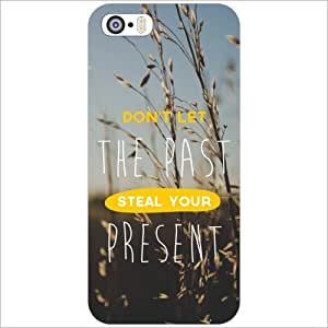 Printland Back Cover For Apple iPhone 5S - The Past Phone Cover (Printed Designer)