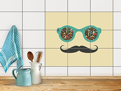 reparation-baignoire-carrelage-sticker-autocollant-art-de-tuiles-mural-design-hipster-hipster-25x20-