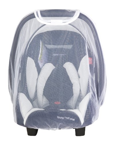 Recaro 381500000 - Mosquitera para Young Profi plus (Grupo 0/0+, color blanco)