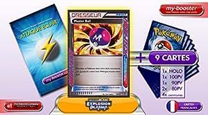 DRESSEUR MASTER BALL 94/101 Explosion Plasma - Booster optimisé Attaque Eclair de 10 cartes pokemon Francaises