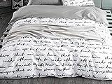 PENVEAT 1 STÜCKE Bettbezug 220 * 240 Bettwäsche Quilt Decke Tröster Abdeckung Druck Einzel Doppel Königin König Maßgeschneiderte 140 * 200 cm Nordic, Farbe 02,155x215 cm