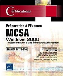 Windows 2000 - Implémentation d'une infrastructure réseau - Examen 70-216