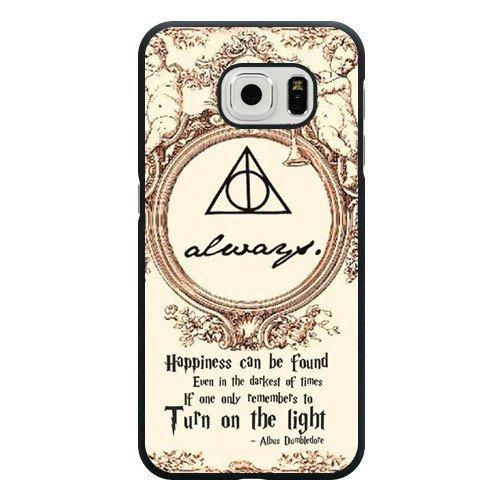 Coque rigide pour Samsung Galaxy S6 Motif Harry Potter (pas pour Samsung Galaxy S6Edge) Noir