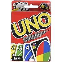 Mattel Games Uno francés, juego de cartas (Mattel W2087)