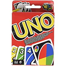 Mattel Games - UNO francés, juego de cartas (Mattel W2087)