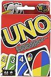 Mattel Games - UNO clásico, juego de cartas (Mattel W2087)