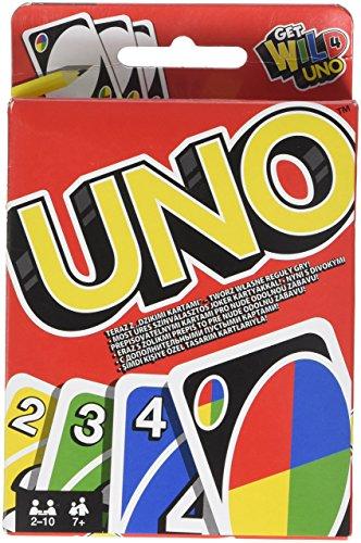 Mattel - UNO, juego de cartas (W2087) - [versión española]