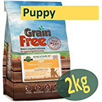 Wheatsheaf 2kg Grain Free' Premium Dog Food VARIOUS FLAVOURS (Puppy - CHICKEN, SWEET POTATO, CARROTS & PEAS)