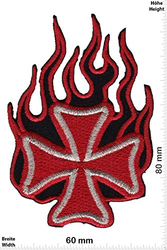 patches-iron-cross-flame-red-gold-biker-rocker-chopper-vest-iron-on-patch-applique-embroidery-cusson