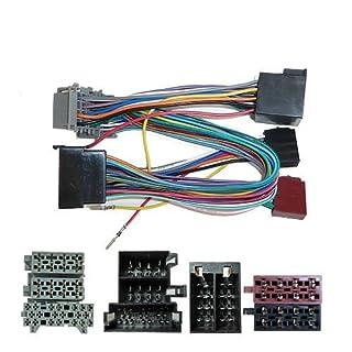 SOT / Parrot / Bluetooth ISO Adapter Verkabelung Kabel Kabelbaum Opel sot-078