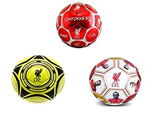 Liverpool F.C. Size 5 Football by Official Football Merchandise