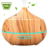 Best Aroma Diffusers - INSMART 400ml Essential Oil Diffuser, 4 Timer Ultrasonic Review