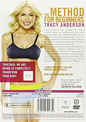 Tracy Anderson The Method For Beginners [Edizione: Regno Unito] [Import italien]