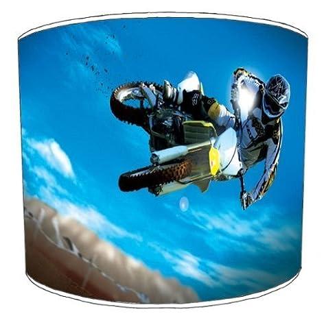 Premier Abat-jour–Abat-jour plafond Motocross Stunt Bike,