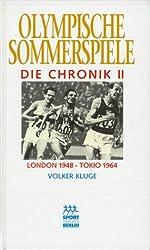 Olympische Sommerspiele, Die Chronik, 4 Bde., Bd.2, London 1948 - Tokio 1964