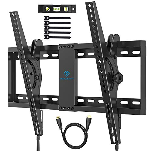 Soporte TV de Pared Articulado Inclinable, Soporte De Pared TV para Pantallas de 37-70 Pulgadas LCD...